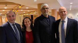 유대교 신자들이 모스크 화재로 갈 곳 잃은 무슬림들을 회당에