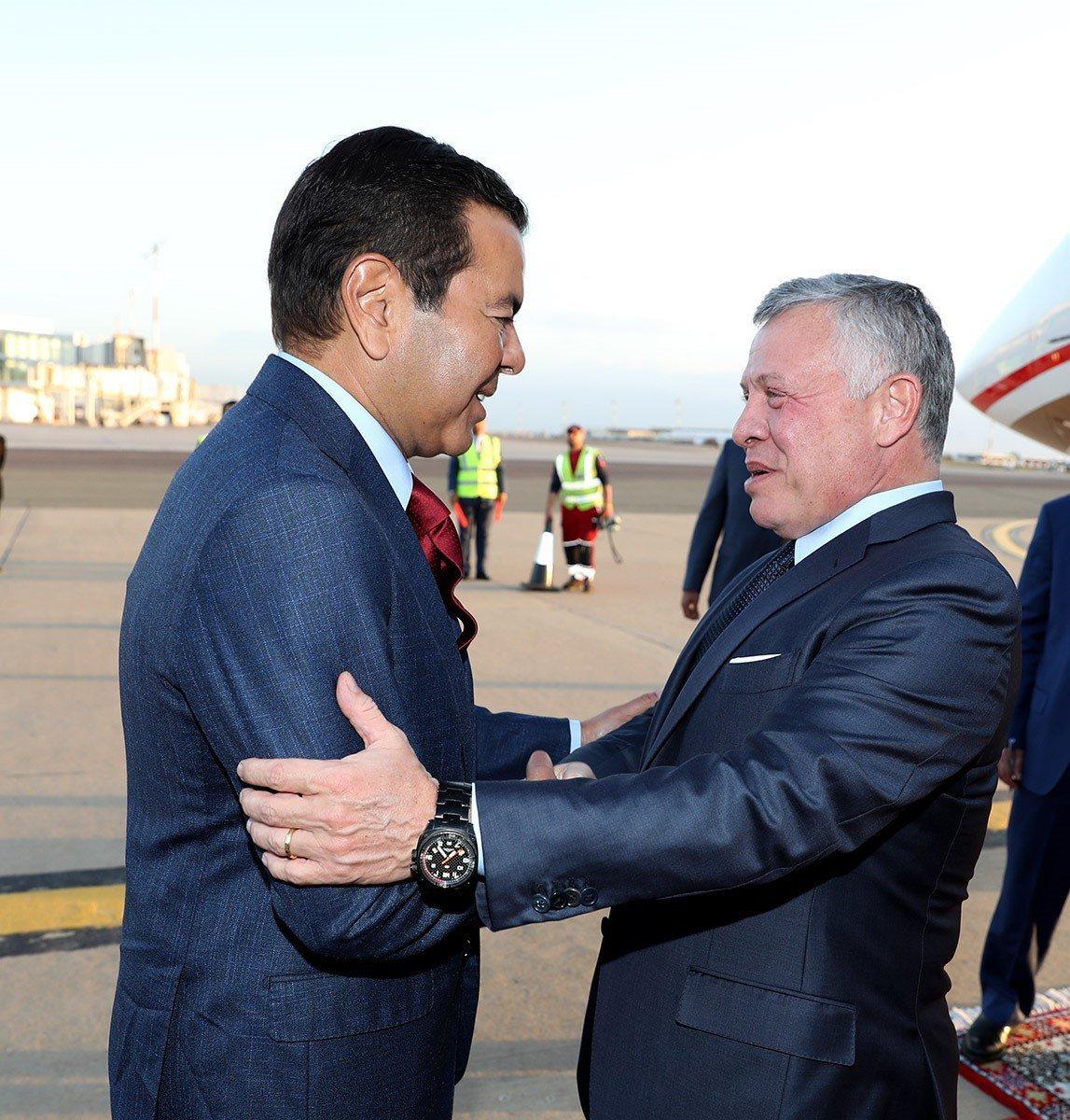 Arrivée à Casablanca du roi Abdallah II de Jordanie pour une visite d'amitié et de