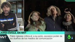 La respuesta de Jordi Évole a Pablo Iglesias en 'Más Vale Tarde' tras su crítica a los