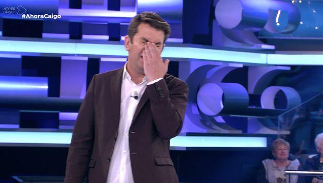 El inexplicable fallo de de esta concursante en 'Ahora Caigo' (Antena 3): es especialmente