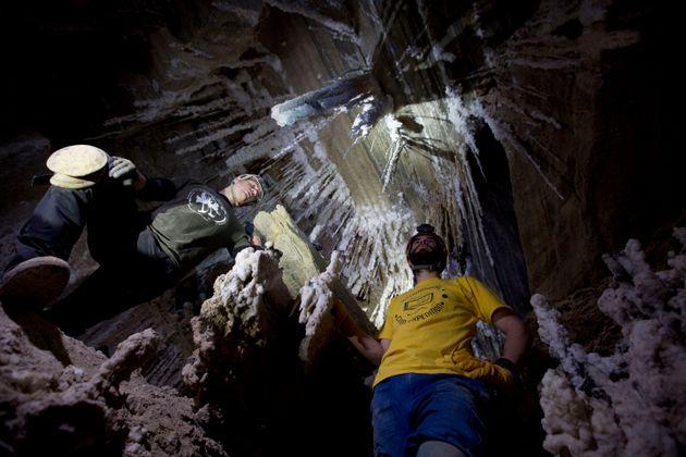 Στο Ισραήλ το μεγαλύτερο αλατοσπήλαιο στον
