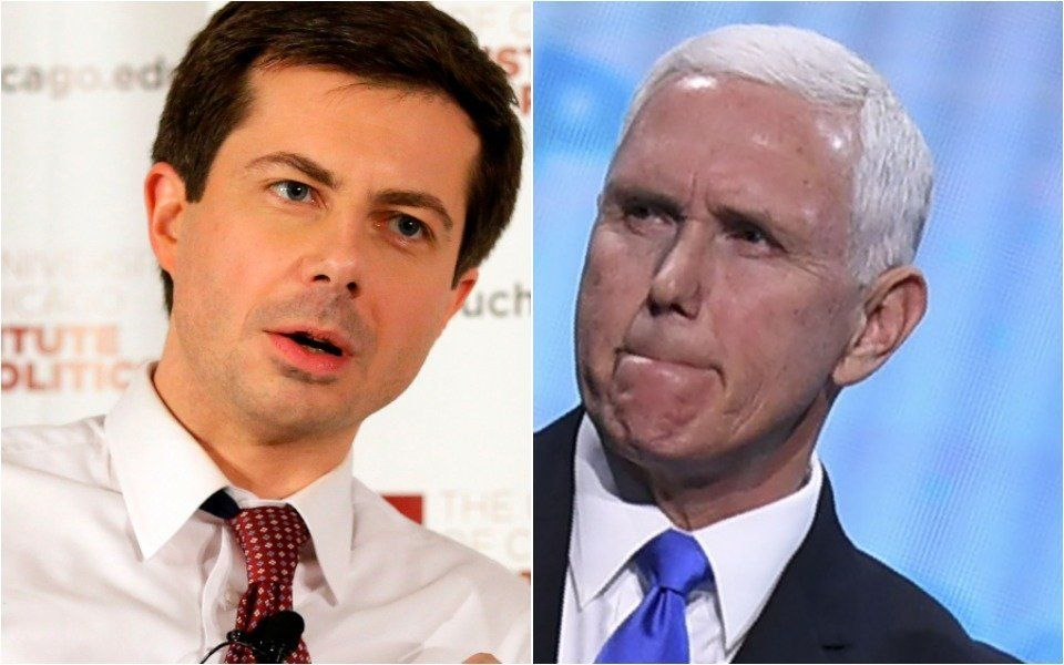 Mayor Pete and Mike Pence