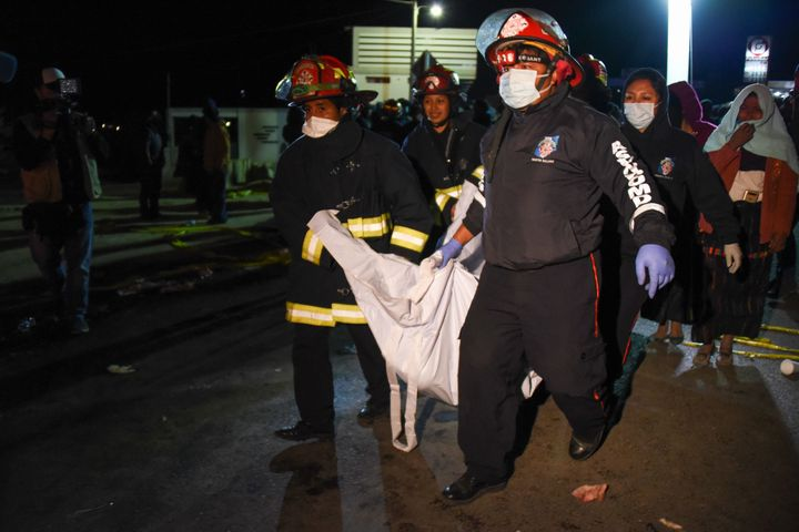 Health Minister Carlos Soto said that 18 others, including children, were injured.