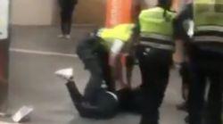Renfe aparta a nueve vigilantes por golpear brutalmente a un