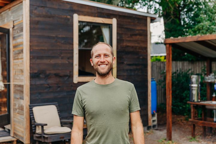 Rob Greenfield, who lives in Orlando, Florida, is growing and foraging 100 percent of what he eats for a year.