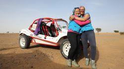Sihame et Amal, premières à tenter le Rallye Aïcha des Gazelles à bord d'un prototype