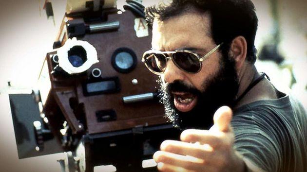 O diretor Francis Ford Coppola no caótico set de filmagens deApocalypse