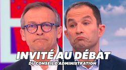 Plainte d'Hamon contre France 2: le présentateur de Télématin parlera à