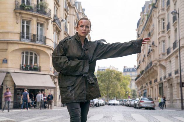 Jodie Comer as Villanelle in Killing