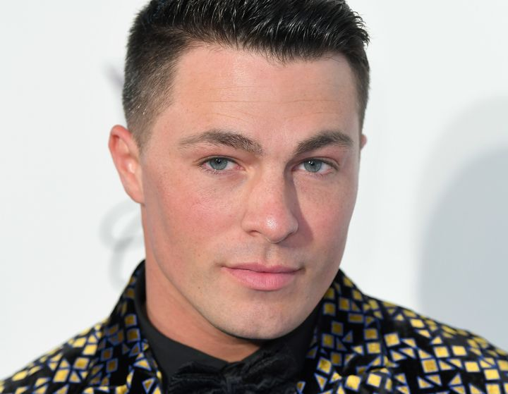 Colton Haynes at the Elton John AIDS Foundation Academy Awards party in Los Angeles on Feb. 24. In an interview with Attitude