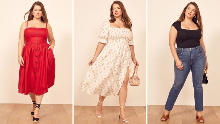 b7ed05cb82 Reformation's New Plus-Size Collection Is Finally Here To Stay ...