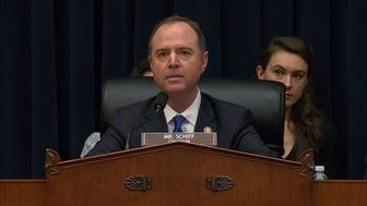 """Republican Rep. Mike Conaway read a letter that argued Rep. Schiff has been """"at the center of a well-orchestrated media campaign"""" targeting President Trump over alleged Russian collusion."""