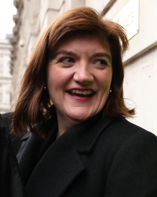 "Nicky Morgan said she has ""no desire and no intention"" of standing for the leadership"