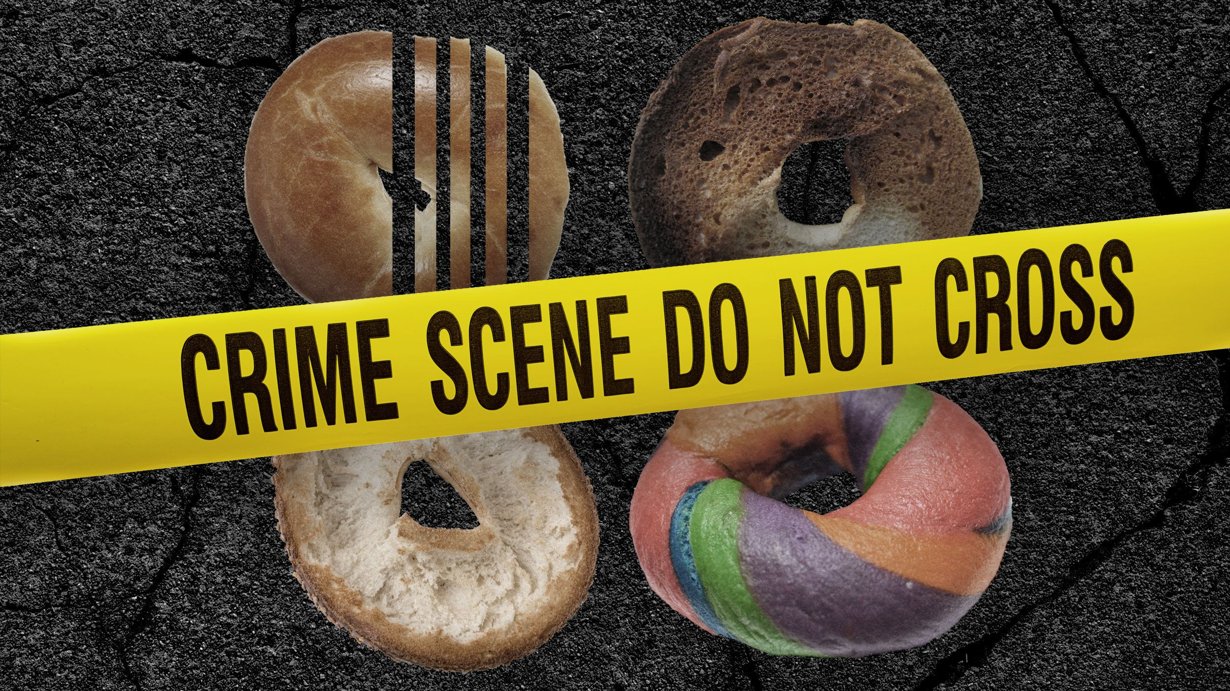 Crimes against bagels.