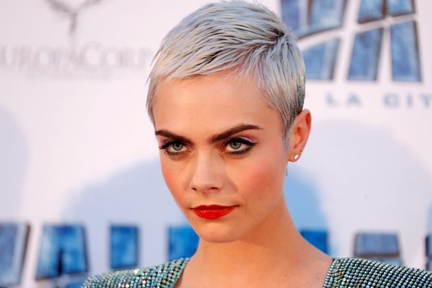 Cara Delevingne at the premiere of the film