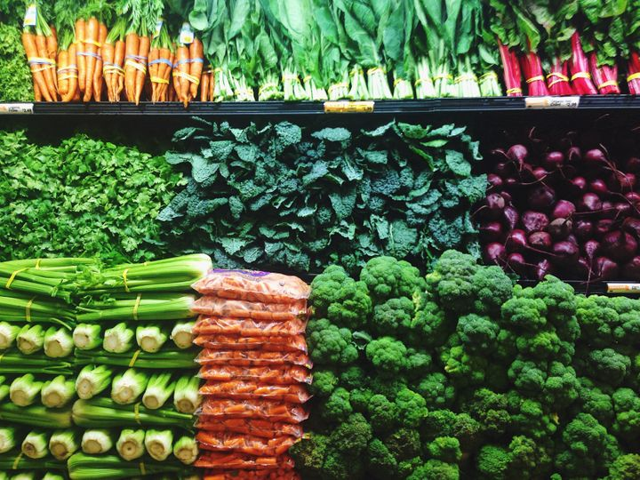 Eating plenty of fruit and vegetables, however they are grown, is key to a healthy diet.