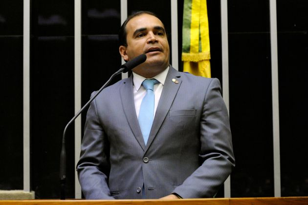 Odeputado Delegado Marcelo Freitas (PSL-MG), que será o relator da PEC da reforma da Previdência...