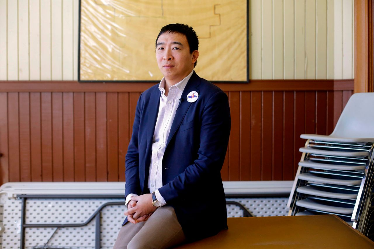 """People on the campaign trail """"care a lot more about the ideas I'm promoting that will help them, their families and their communities than they do about what race I happen to be,"""" Andrew Yang told HuffPost."""