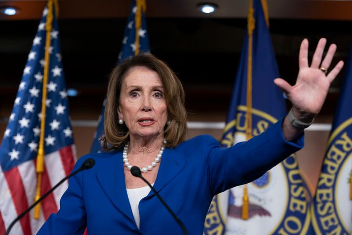 House Speaker Nancy Pelosi has been a vocal critic of Attorney General William Barr's synopsis of the as-yet-unreleased