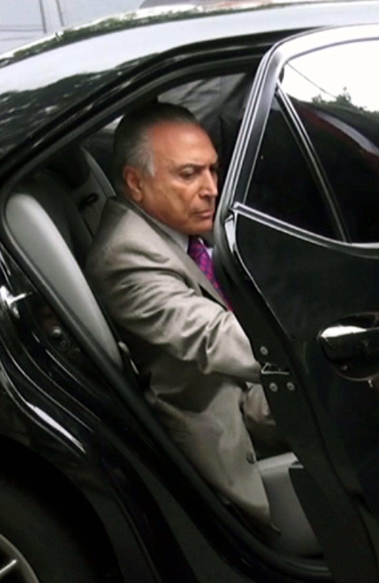 Temer vira réu por corrupção no caso da mala, envolvendo Rocha