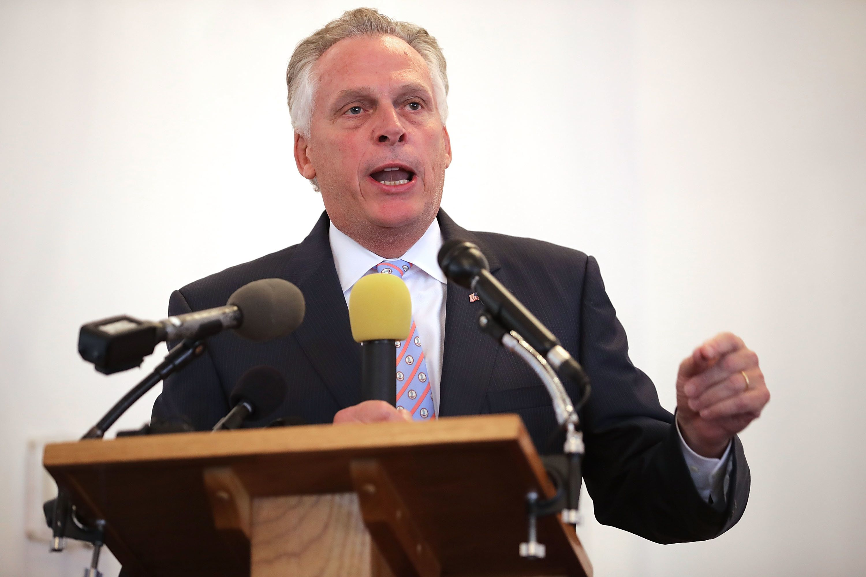 Former Virginia Gov. Terry McAuliffe Announces He Won't Run For President