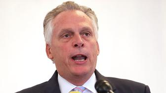 CHARLOTTESVILLE, VA - AUGUST 13:  Virginia Gov. Terry McAuliffe delivers remarks during a worship service at Mt. Zion First African Baptist Church August 13, 2017 in Charlottesville, Virginia. McAuliffe addressed the congregation the day after violence errupted around the Unite the Right rally, a gathering of white nationalists, neo-Nazis, the Ku Klux Klan and members of the 'alt-right,' that left one counter-protester and two state police officers dead.  (Photo by Chip Somodevilla/Getty Images)