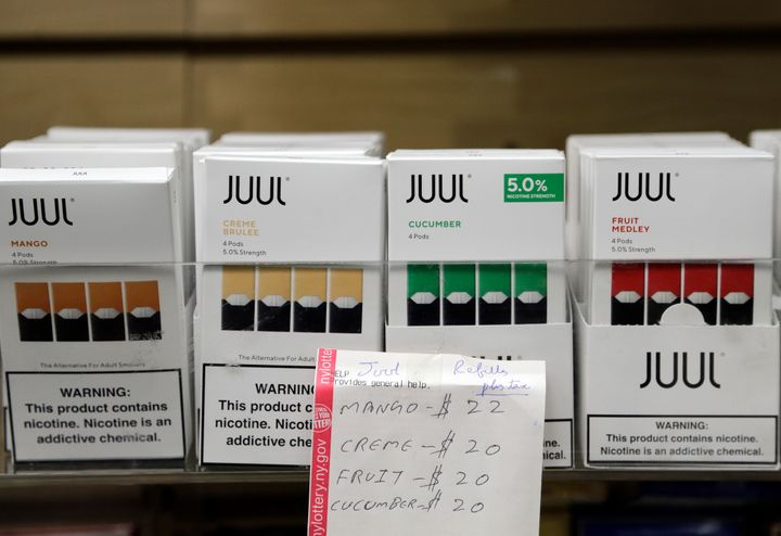 Juul, one of the more popular companies producing vaping products, may have to pull its flavored options from California.