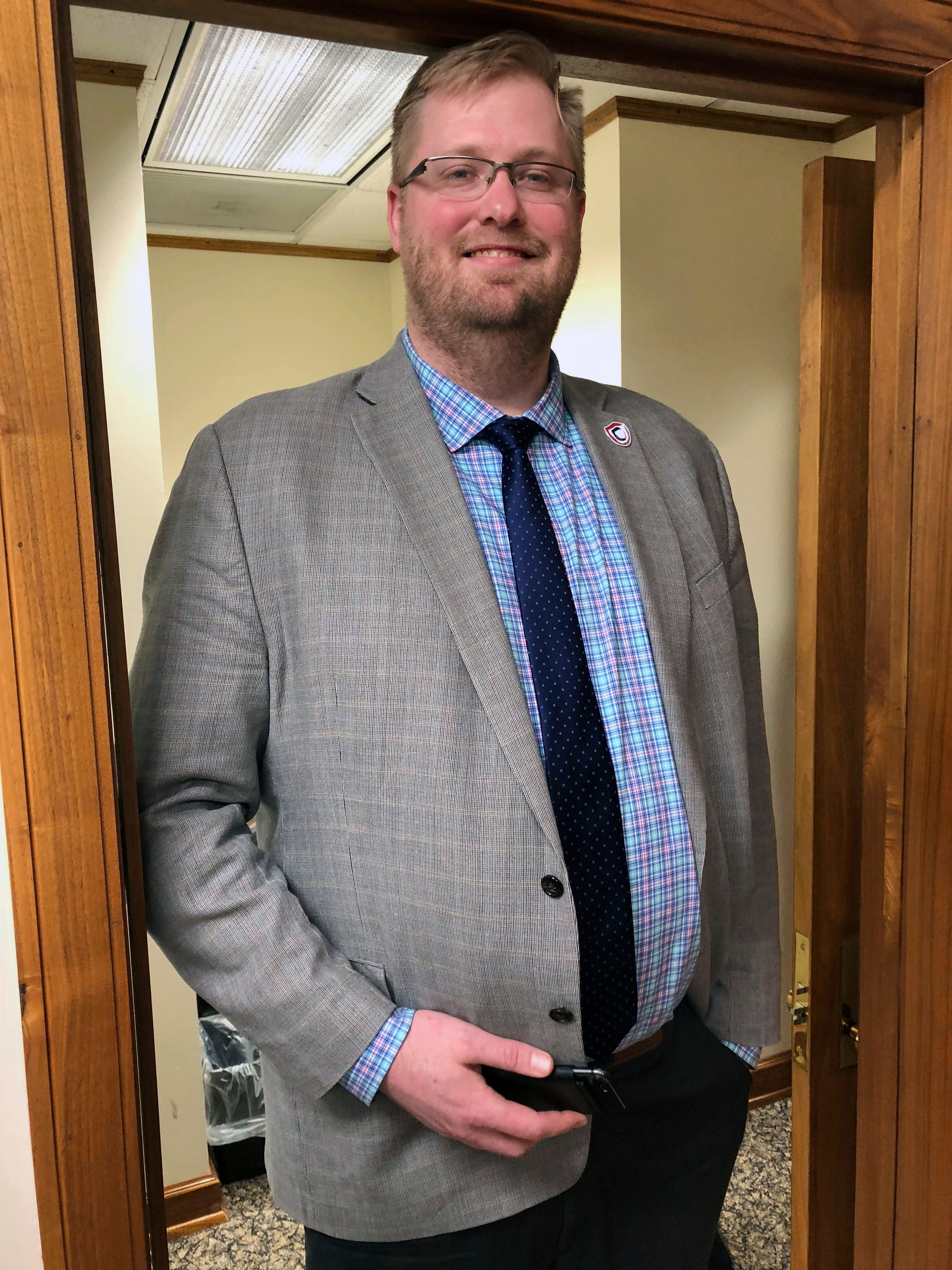 North Dakota's insurance commissioner, Jon Godfread, has stepped forward to say he will contest the title.