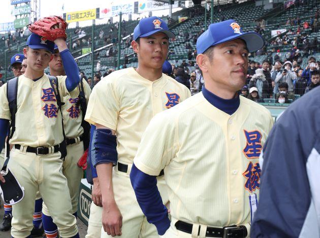 星稜・林和成監督(右)