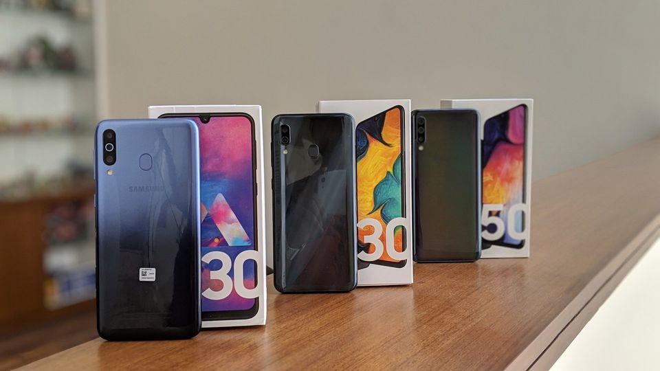 Samsung Galaxy M30 Galaxy A30 And Galaxy A50 Review Fighting For