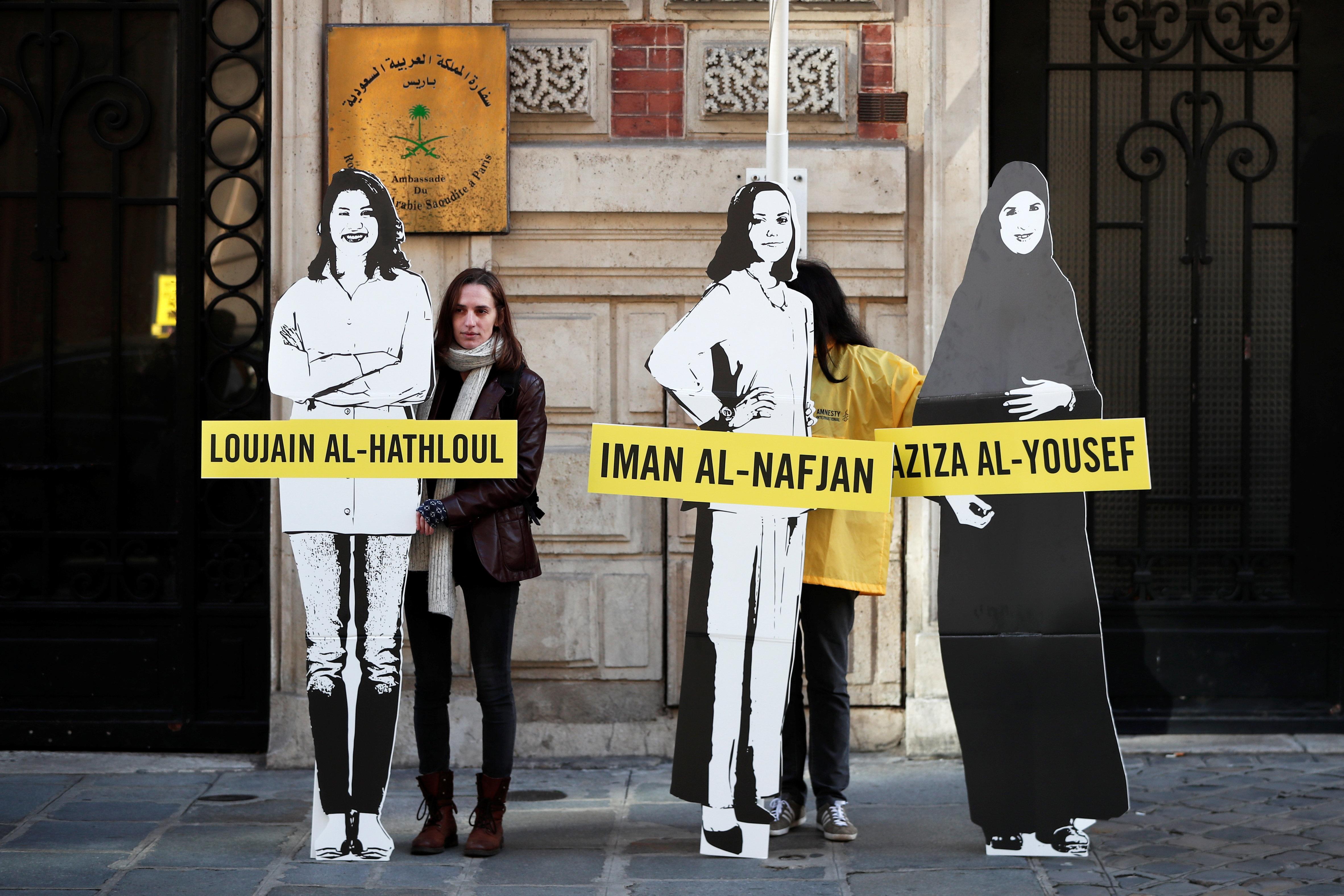 Διαμαρτυρία ακτιβιστών...