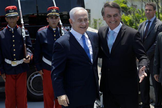 Bolsonaro recebe Netanyahu no Rio de