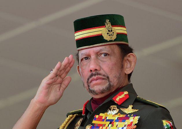 Le sultan de Brunei,Hassanal