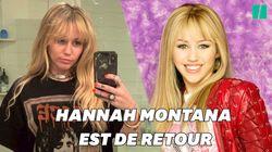 Miley Cyrus se transforme et redevient Hannah