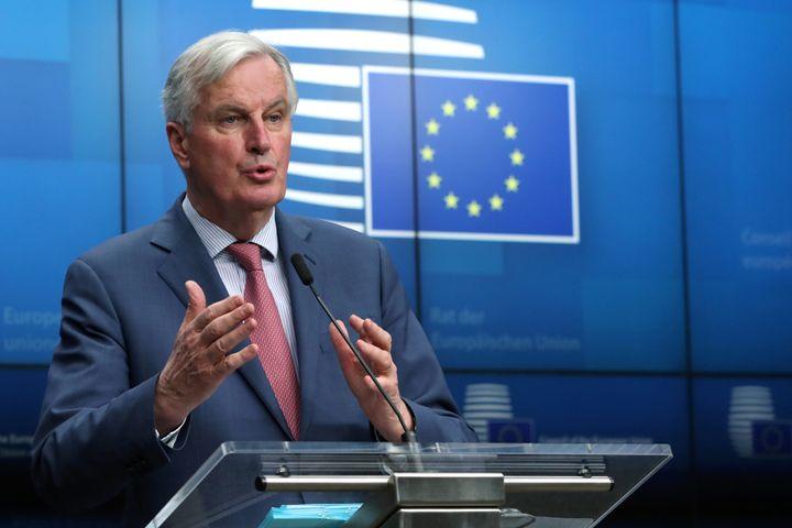 <strong>EU's chief negotiator Michel Barnier&nbsp;</strong>