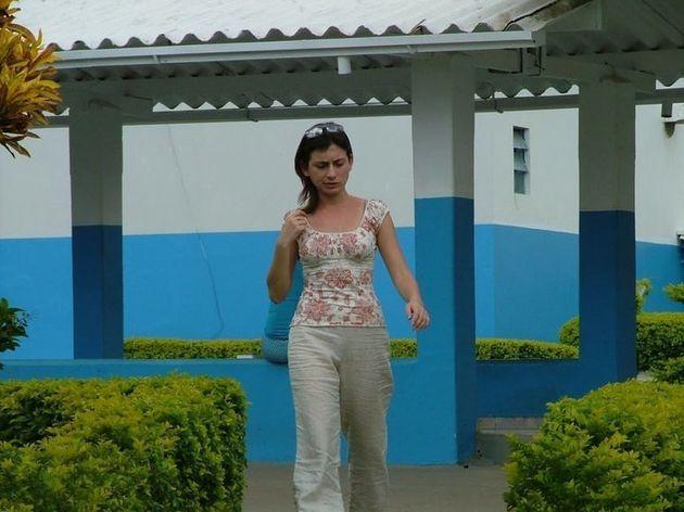 En el exterior de La Casa (Abadiânia, Brasil), donde podías encontrar a Juan de