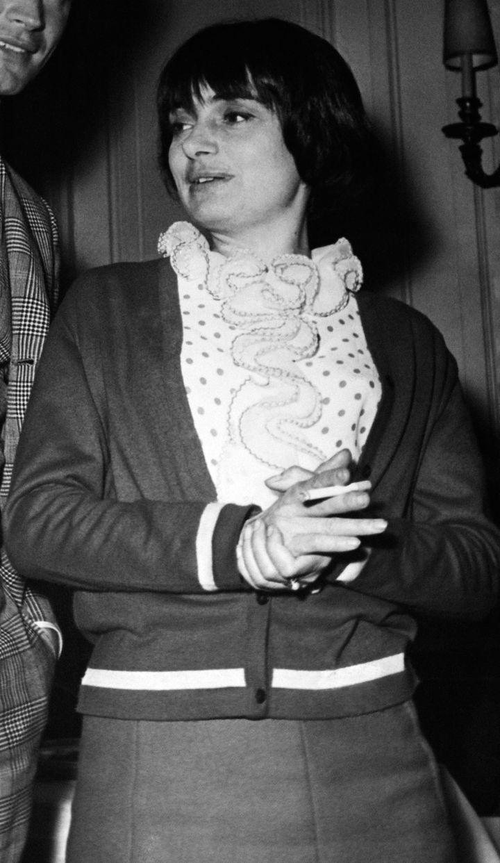 Agnès Varda, en 1965.
