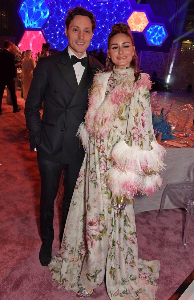L'influenseuse et mannequin américaine Olivia Palermo en compagnie de son frère Grant