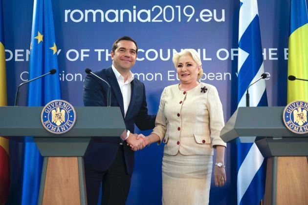 Στο Βουκουρέστι ο Τσίπρας για την Τετραμερή με Ρουμανία, Σερβία και
