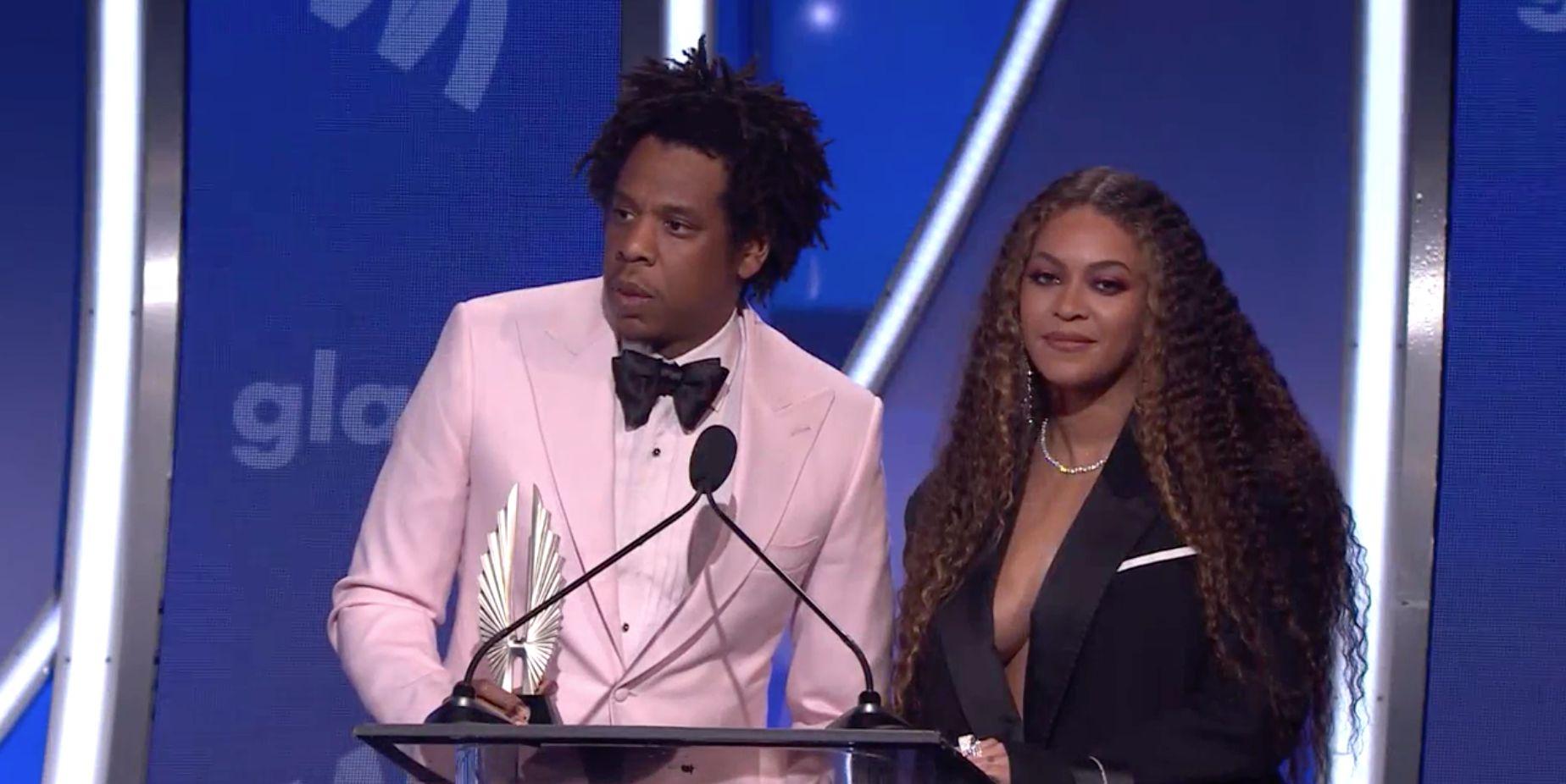 Beyonce Jay Z GLAAD Awards Speech