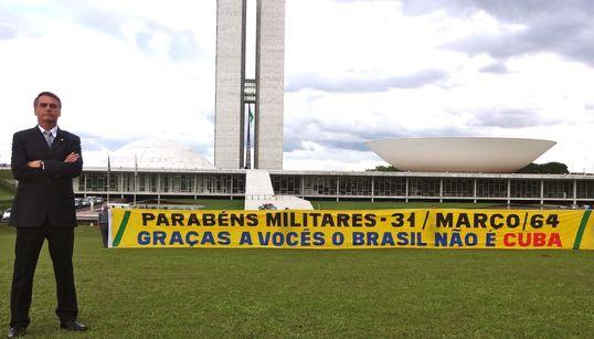 Celebração do golpe de 64 expôs cautela maior entre militares no governo