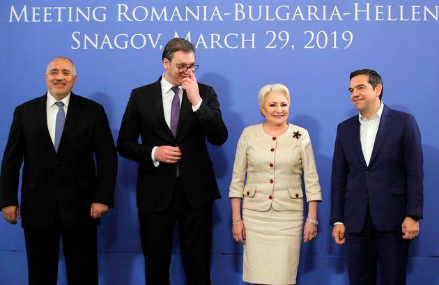 Τσίπρας: Δακτύλιος διασυνδεσιμότητας ανάμεσα σε Ελλάδα, Βουλγαρία, Σερβία και