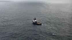 La pollution en surface a quasi disparu après le naufrage du Grande