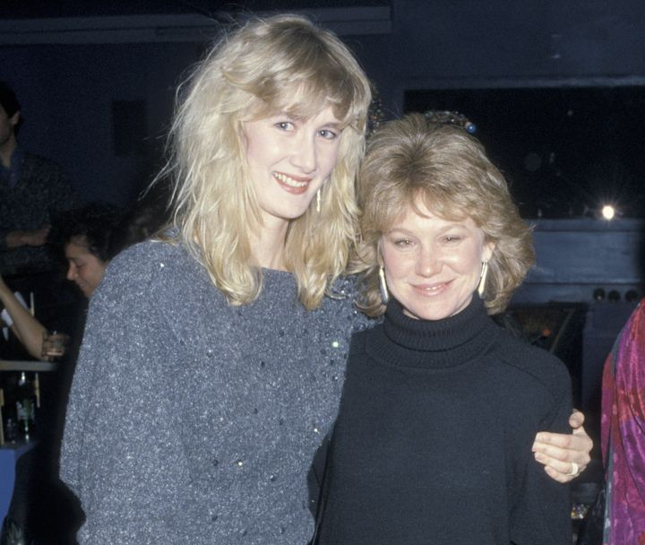 "Laura Dern and Place at the premiere of ""Smooth Talk"" in 1985."