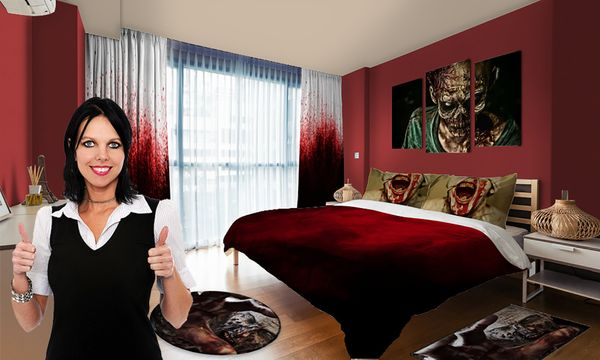 "Anyone who doesn't think their mom secretly wants <a href=""https://www.visionbedding.com/bedding/zombie"" target=""_blank"">zomb"