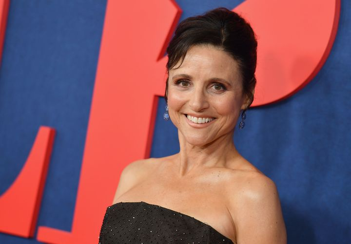 "Julia Louis-Dreyfus attends the seventh and final season premiere of ""Veep"" in New York City this week."