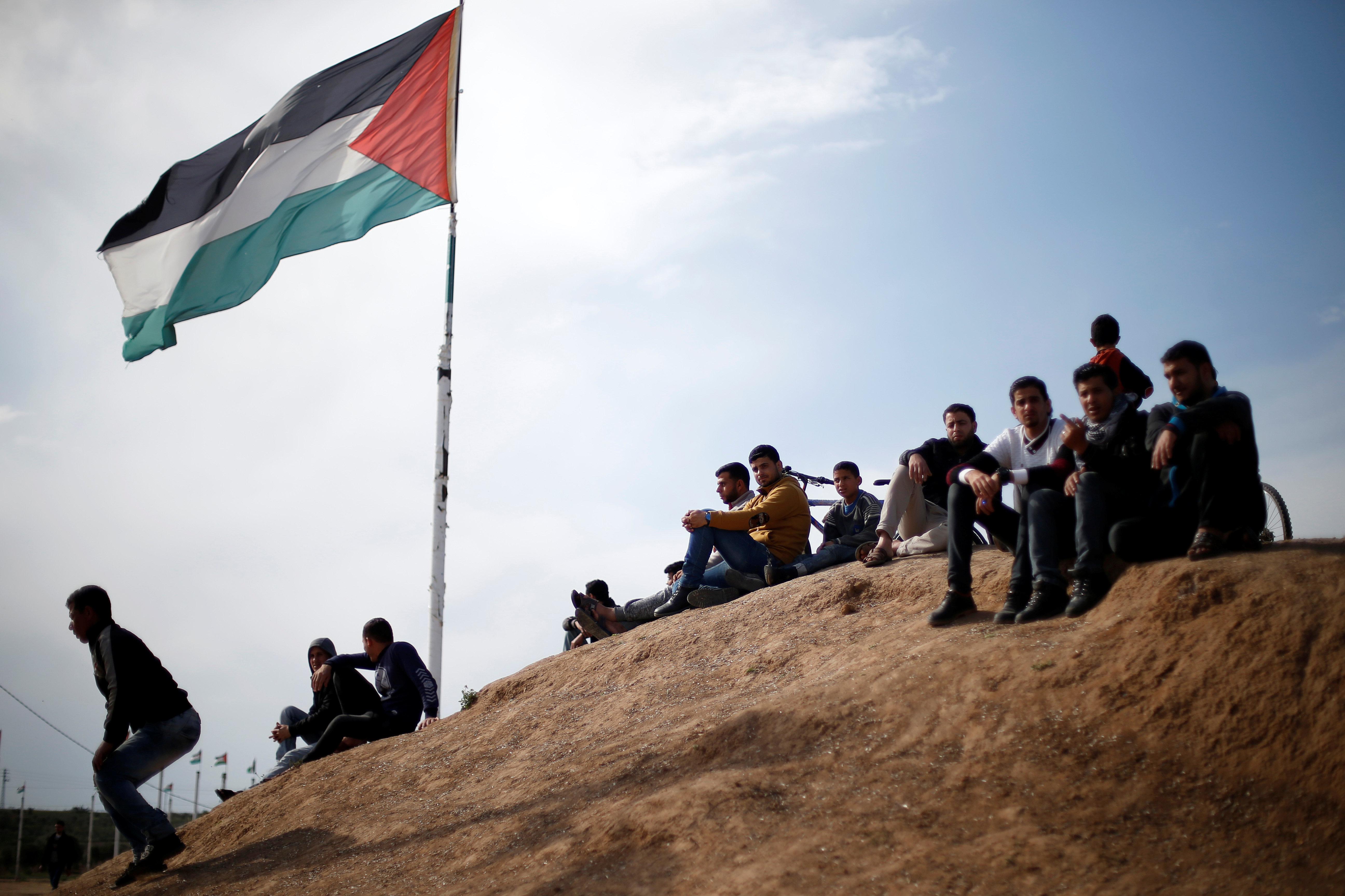 À Gaza, un premier anniversaire des