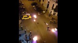 Βίντεο: Μολότοφ και χημικά στα Εξάρχεια - Δύο συλλήψεις από την