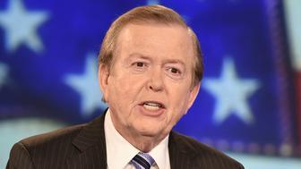 NEW YORK, NY - DECEMBER 13:  Lou Dobbs hosts 'Lou Dobbs Tonight' at Fox Business Network Studios on December 13, 2018 in New York City.  (Photo by Steven Ferdman/Getty Images)