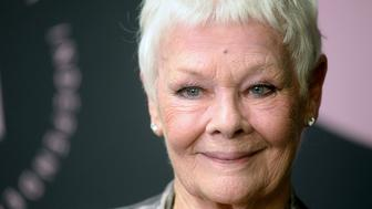 LONDON, ENGLAND - DECEMBER 02:  Winner of The Richard Harris Award for Outstanding Contribution by an Actor to British Film, Dame Judi Dench poses in the winners room at the 21st British Independent Film Awards at Old Billingsgate on December 02, 2018 in London, England. (Photo by Dave J Hogan/Dave J Hogan/Getty Images)